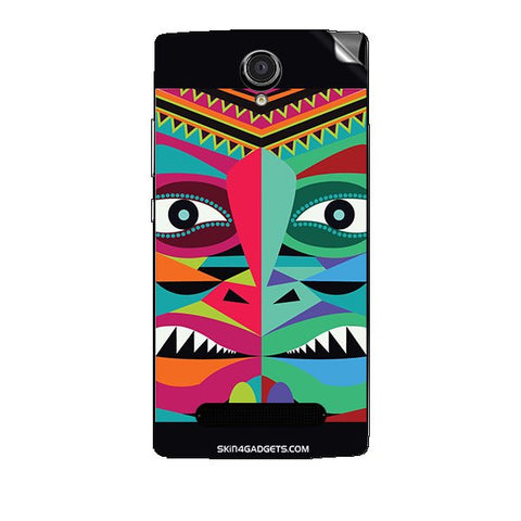 Tribal Face For XOLO LT2000 Skin