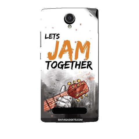 Lets Jam Together For XOLO LT2000 Skin
