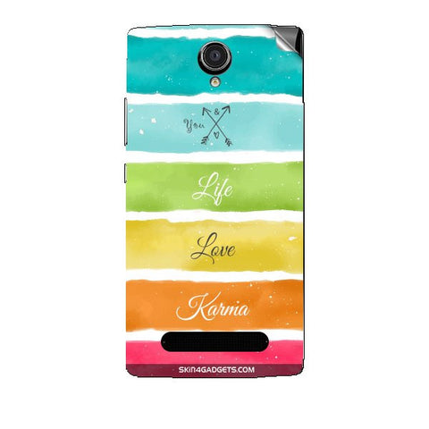 Lets Love Life For XOLO LT2000 Skin