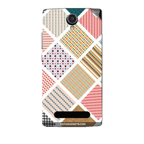 Varied Pattern For XOLO LT2000 Skin