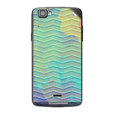 Colourful Waves For XOLO ONE Skin