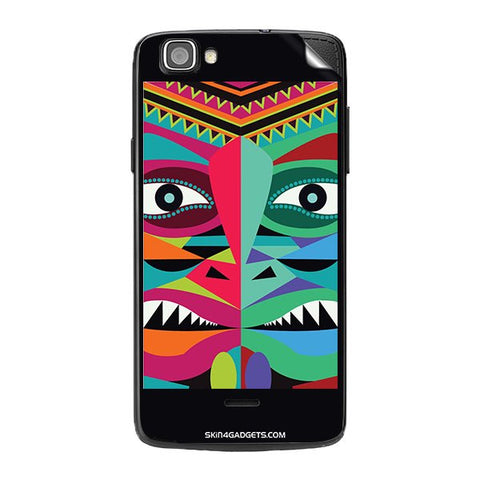 Tribal Face For XOLO ONE Skin