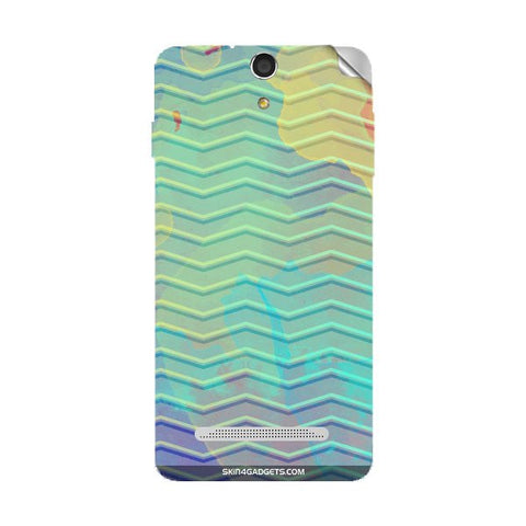 Colourful Waves For XOLO PLAY 8X 1100 Skin