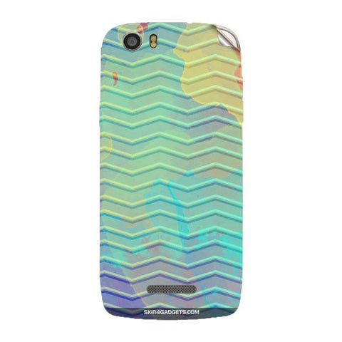 Colourful Waves For XOLO Q700S Skin