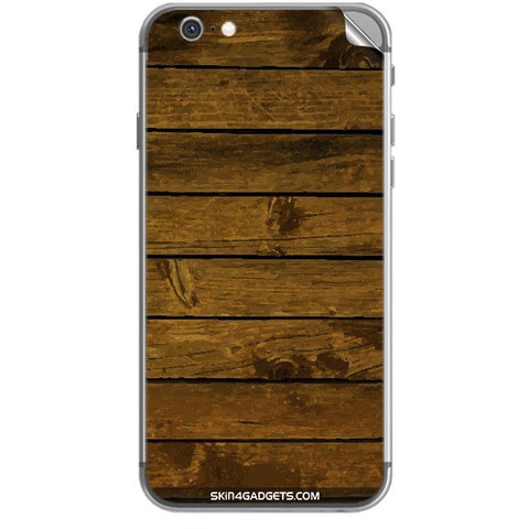 Brown Wooden Planks For APPLE IPHONE 6S Skin