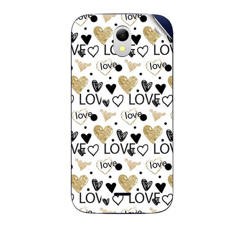 Heart and Love Doodle For GREENBERRY HITECH A2 AIR Skin