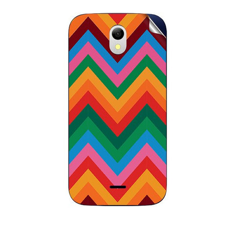 Colored Chevron For GREENBERRY HITECH A2 AIR Skin