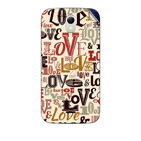 Love typography For GREENBERRY HITECH A2 AIR Skin