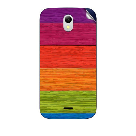 Multicolor Wooden Planks For GREENBERRY HITECH A2 AIR Skin