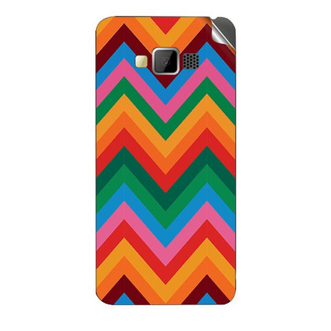 Colored Chevron For GREENBERRY SWIPE KONNECT 4 Skin