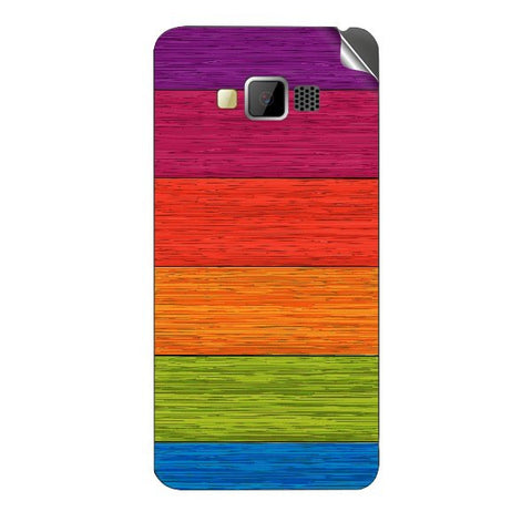 Multicolor Wooden Planks For GREENBERRY SWIPE KONNECT 4 Skin