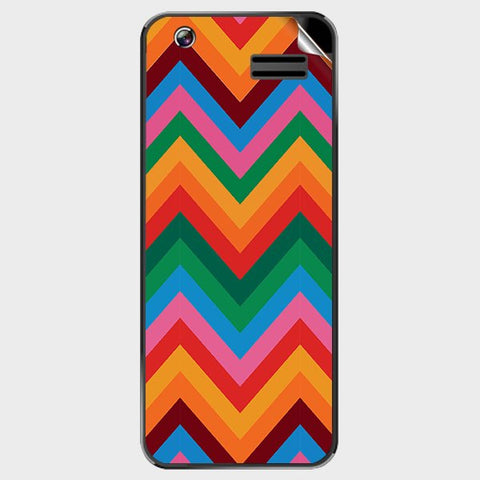 Colored Chevron For GREENBERRY TRENDY T1 Skin