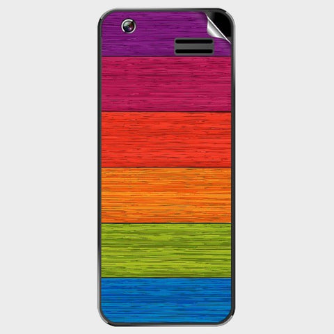Multicolor Wooden Planks For GREENBERRY TRENDY T1 Skin