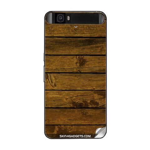 Brown Wooden Planks For GOOGLE NEXUS 6P Skin