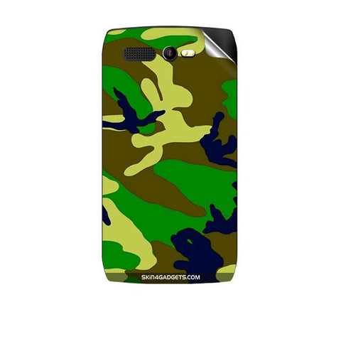Camouflage - Green For KARBONN A1 PLUS Skin