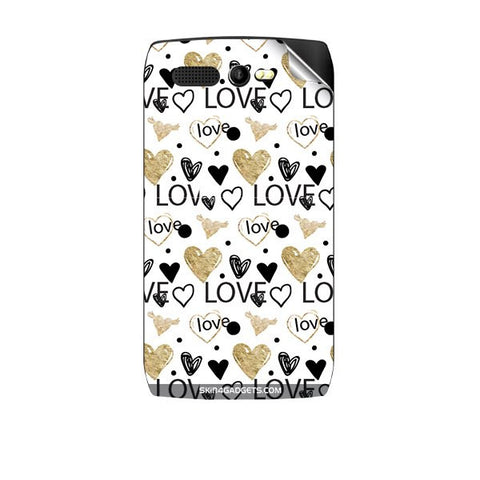 Heart and Love Doodle For KARBONN A1 PLUS Skin