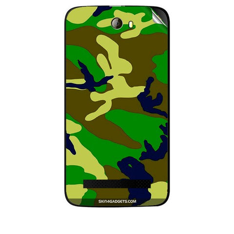 Camouflage - Green For KARBONN A21 PLUS Skin