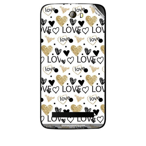 Heart and Love Doodle For KARBONN A21 PLUS Skin