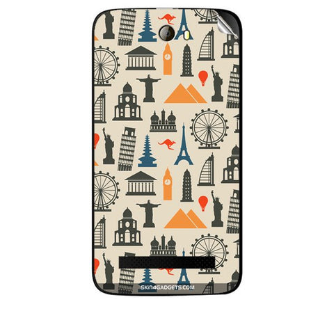 Wonders of the World For KARBONN A21 PLUS Skin