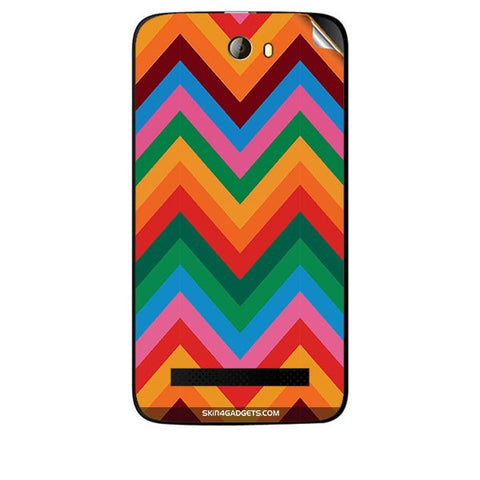 Colored Chevron For KARBONN A21 PLUS Skin