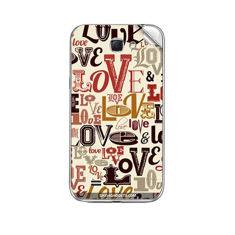 Love typography For KARBONN A25 Skin