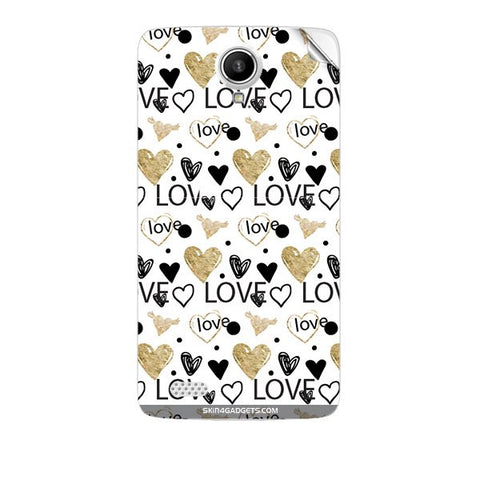 Heart and Love Doodle For KARBONN A27 PLUS Skin
