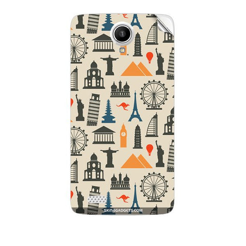 Wonders of the World For KARBONN A27 PLUS Skin