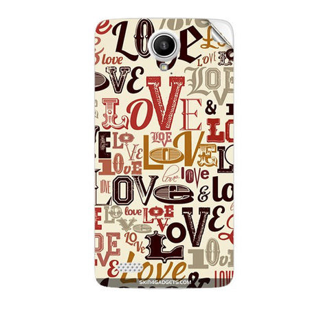 Love typography For KARBONN A27 PLUS Skin