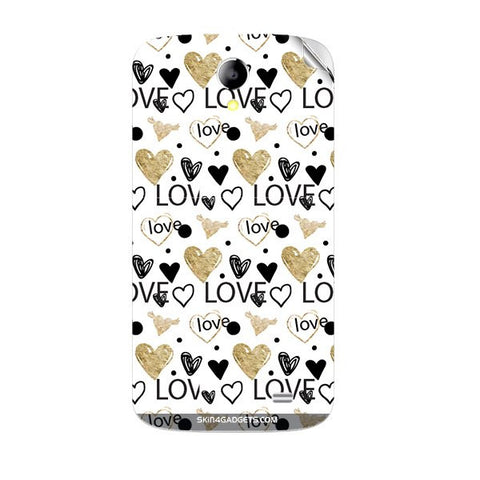 Heart and Love Doodle For KARBONN A25 PLUS Skin