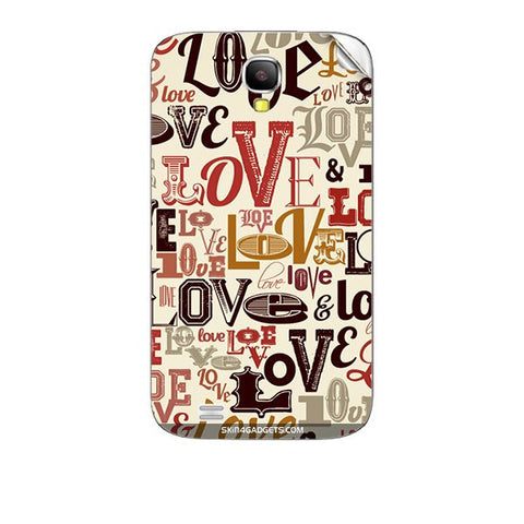 Love typography For KARBONN A35 Skin
