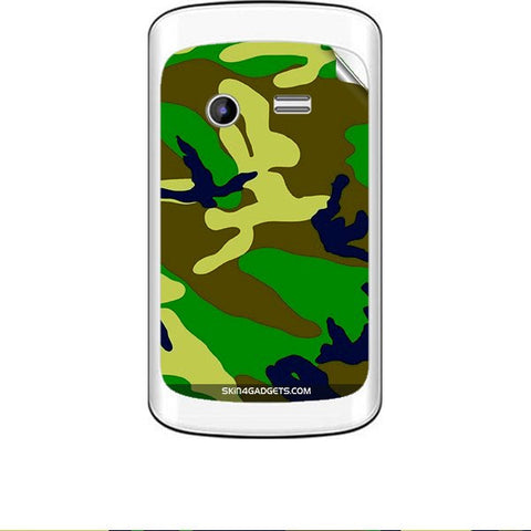 Camouflage - Green For KARBONN A3 PLUS Skin