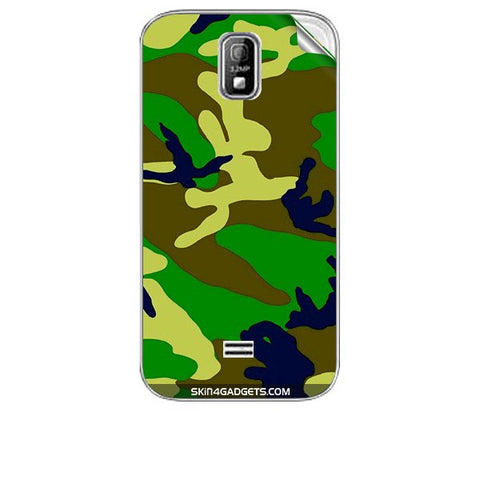 Camouflage - Green For KARBONN A4 PLUS Skin