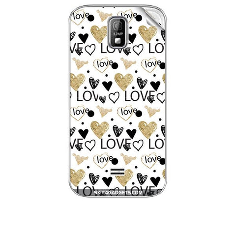 Heart and Love Doodle For KARBONN A4 PLUS Skin