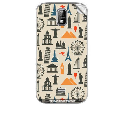 Wonders of the World For KARBONN A4 PLUS Skin
