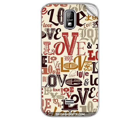 Love typography For KARBONN A4 PLUS Skin