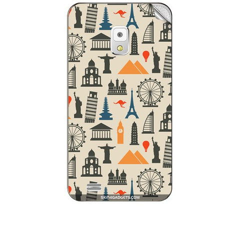 Wonders of the World For KARBONN A5S Skin