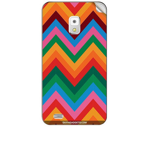 Colored Chevron For KARBONN A5S Skin