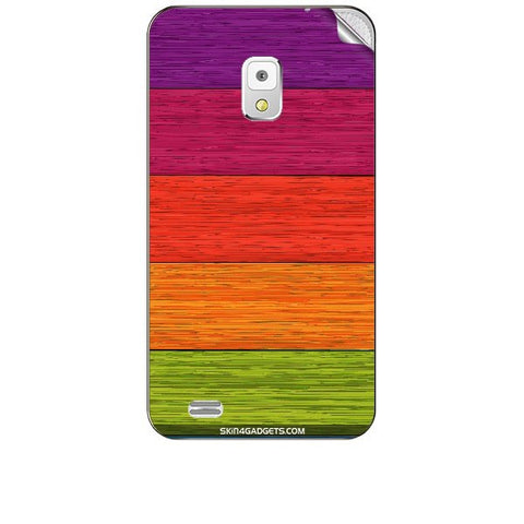 Multicolor Wooden Planks For KARBONN A5S Skin