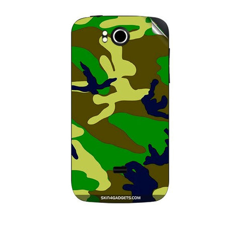 Camouflage - Green For KARBONN A7 PLUS Skin
