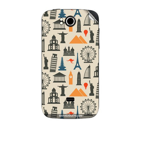 Wonders of the World For KARBONN A7 PLUS Skin