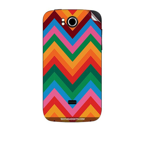 Colored Chevron For KARBONN A7 PLUS Skin