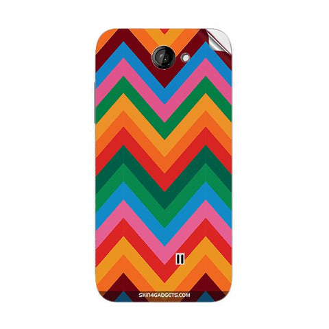 Colored Chevron For KARBONN A9 PLUS Skin