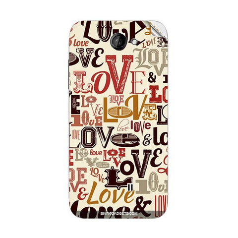 Love typography For KARBONN A9 PLUS Skin