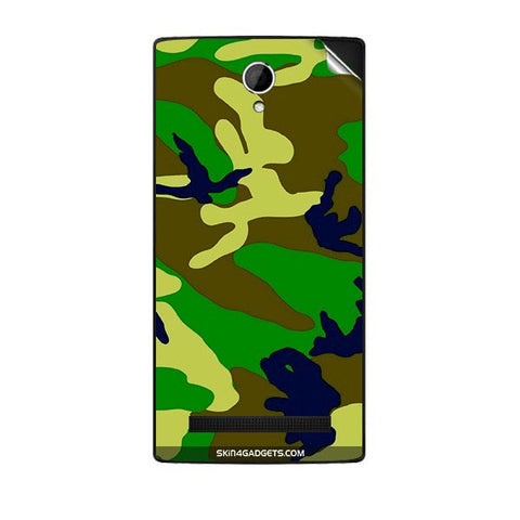 Camouflage - Green For KARBONN A19 PLUS Skin