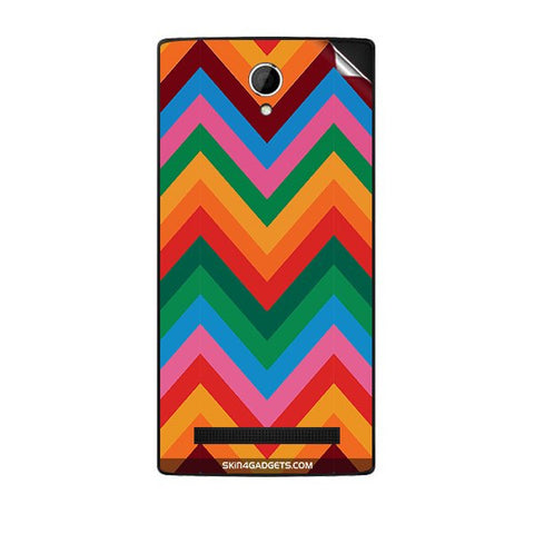 Colored Chevron For KARBONN A19 PLUS Skin