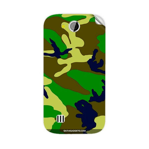 Camouflage - Green For KARBONN A1 PLUS DUPLE Skin