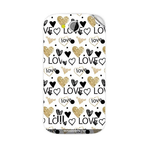 Heart and Love Doodle For KARBONN A1 PLUS DUPLE Skin