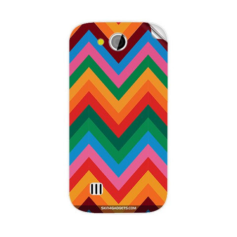 Colored Chevron For KARBONN A1 PLUS DUPLE Skin
