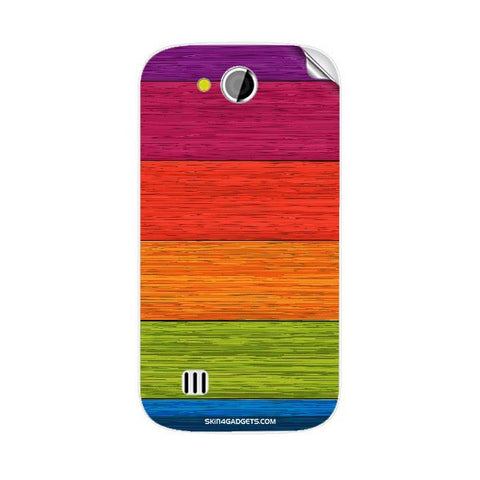 Multicolor Wooden Planks For KARBONN A1 PLUS DUPLE Skin