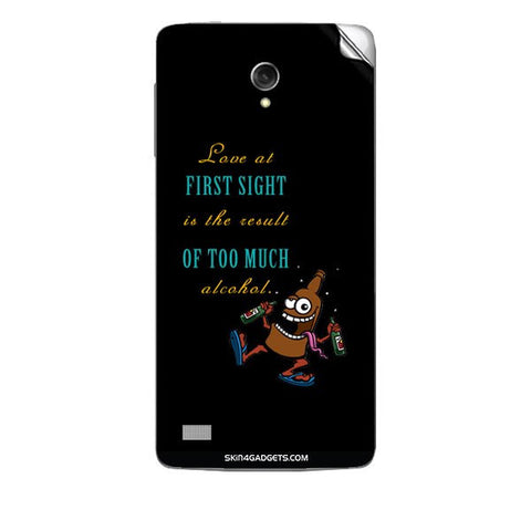 Love at first sight is the result of too much alcohol For KARBONN TITANIUM S1 Skin
